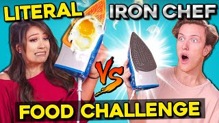 Download Cooking With A REAL Iron? | Literal Iron Chef Challenge Mp3 and Videos