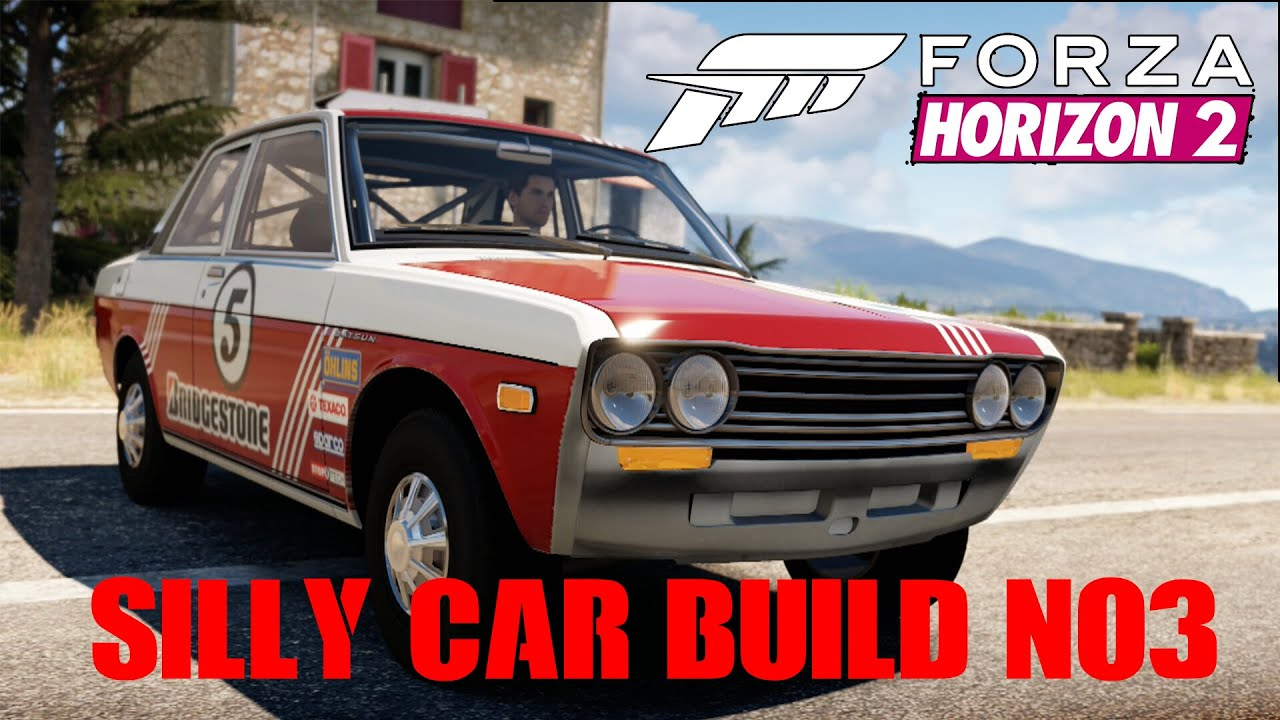 Forza Horizon Silly Car Build No The Datsun Rally Youtube