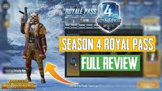 "PUBG Mobile Season 4 ""Royal Pass"" Full Review    5 New Dance Emote"