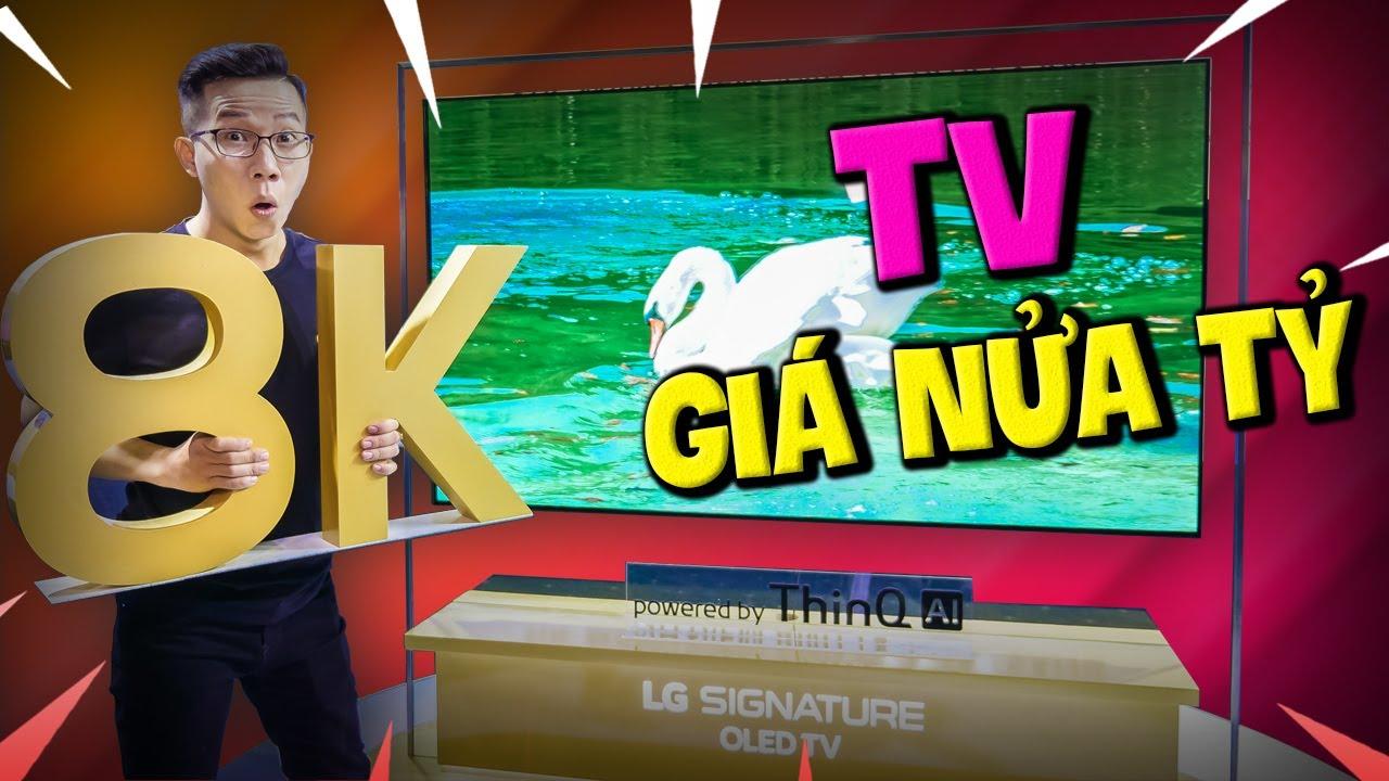 Trải Nghiệm TV LG OLED 8K Giá Nữa Tỷ - Đỉnh Cao Công Nghệ Là Đây