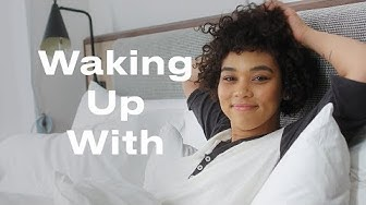 X-Men's Alexandra Shipp Plays Guitar and Meditates to Get Ready for Her Day  | Waking Up With | ELLE