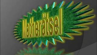 So geht Mathe| Matherätsel #10