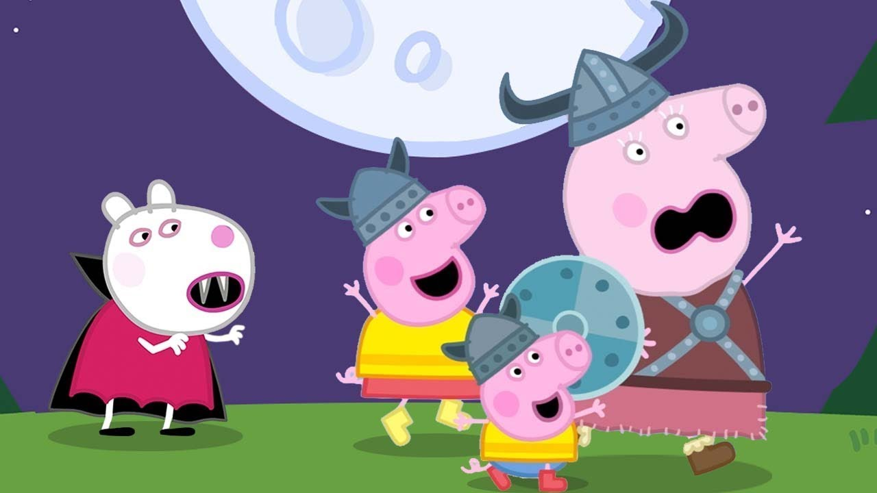 Suzy Turns Into a Vampire | Peppa Pig Nursery Rhymes | I'm A Little Vampire