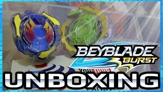 Unboxing Valtryek Unicrest Double Pack - Beyblade Burst da Hasbro!! [PT-Br]