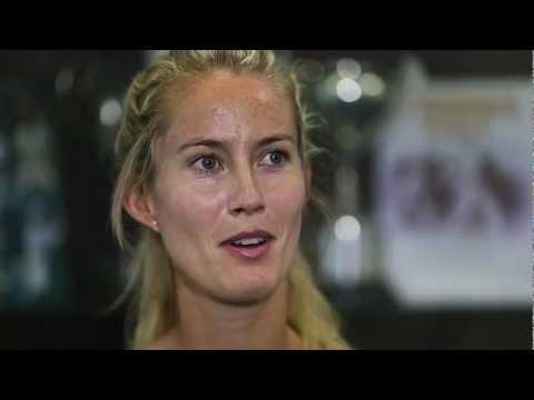 Q&A with Mathilde Johansson - Hyundai Hopman Cup 2013