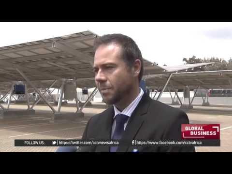 8721 economics energy CCTV Afrique Kenya's solar carport