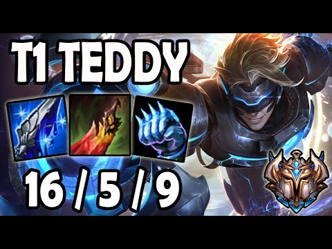 T1 Teddy Ezreal Vs Lucian ADC - Patch 10.10 Korea Ranked
