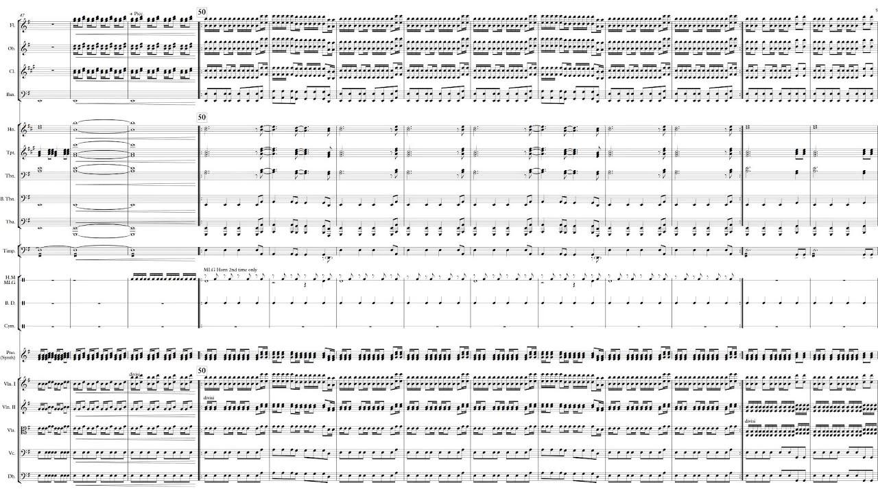 Sandstorm For Symphony Orchestra Darude Arr Peter Yang Youtube
