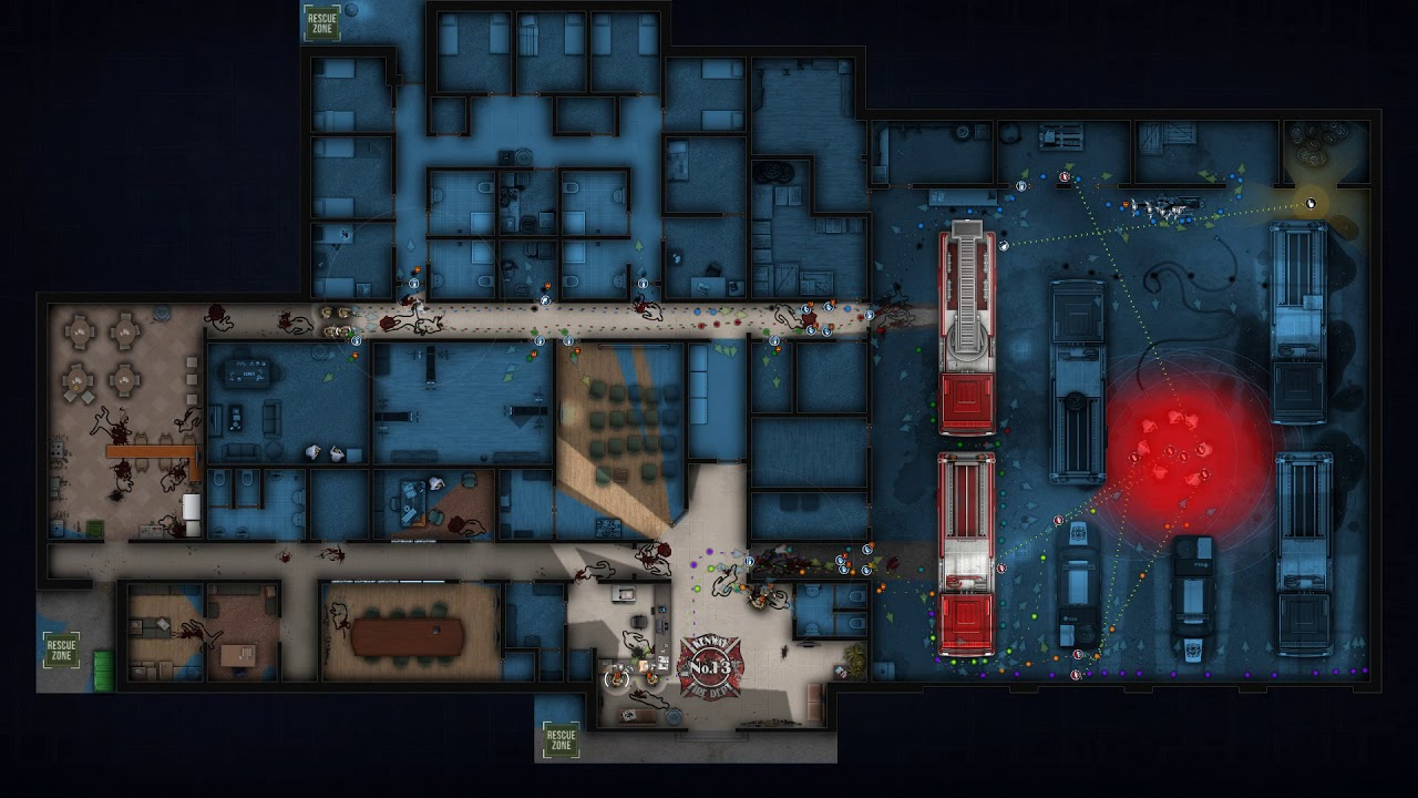Door Kicker:Fire Station North (Single Plan)