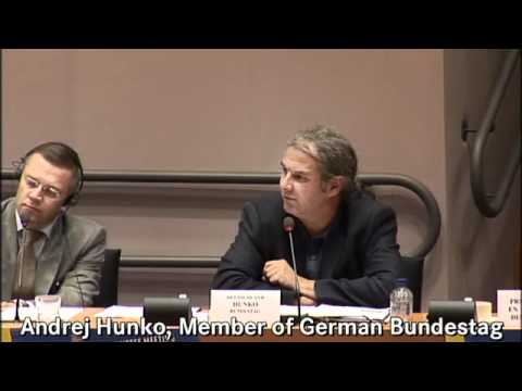 Andrej Hunko (German Bundestag) on Frontex and human rights
