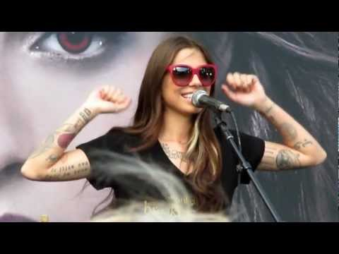 Christina Perri  A Thousand Years  from Tent City 2012