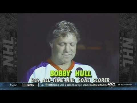 Pioneers. Bobby Hull. NHL Hockey. Chicago Blackhawks, Winnepeg Jets. WHL. Golden Jet.