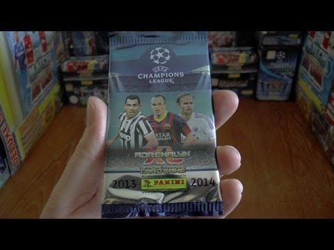 PACK OF THE DAY #26 panini ADRENALYN XL UEFA CHAMPIONS LEAGUE 2013 / 2014 Trading Cards