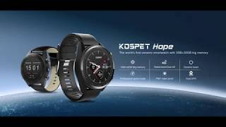 Kospet Hope 4G Ceramic  Smartwatch With 3GB+32GB IP67 Waterproof