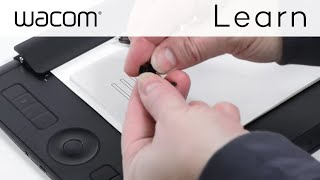 Changing the ink refills on the Wacom Finetip and Ballpoint Pens