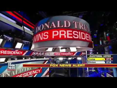 Fox News Declares Donald Trump the Winner in Election 2016