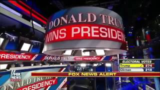 Fox News Declares Donald Trump the Winner in Election 2016