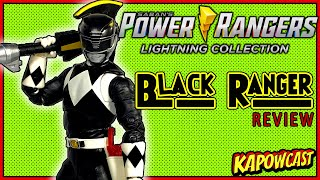 POWER RANGER LIGHTING COLLECTION MIGHTY MORPHIN BLACK RANGER REVIEW