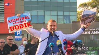 Draško Stanivuković iznosi javno kriminal porodice Dodik i razloge za gašenje BN Televizije