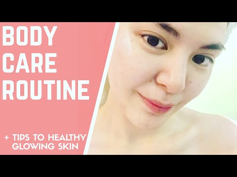 SECRET TO WHITE & GLOWY SKIN | PAANO PUMUTI?! WHAT PRODUCTS I USE TO WHITEN SKIN? |BODY CARE ROUTINE