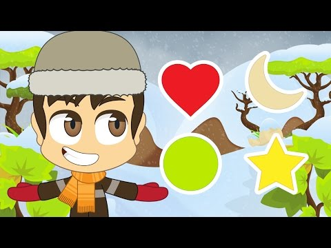 Shapes in Arabic for Kids - Learn Shapes in Arabic for Children with Zakaria