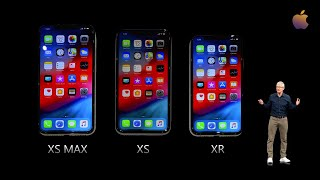 The New iphone Xs - Xs Max - Xr | Apple Event 2018 | Steve Jobs Theater