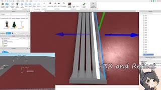 Construction d'un banc de parc - Timelapse test - Roblox Studio
