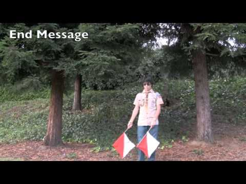 Signaling-Semaphore Flag Conversation- Forrest Yeh