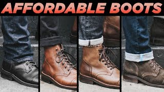 Top 5 Affordable Men's Boots For Fall | Cheap Men's Fashion 2018 | Styleondeck