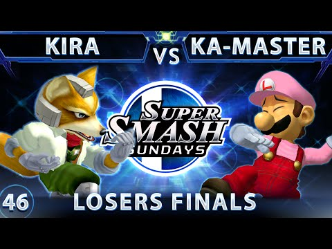 SSS 46 - SSBM-T Kira (Fox) Vs. Ka-Master (Luigi) SSBM Losers Finals - Smash Melee