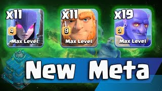 11 Max Witch 19 Max Bowler 11 Max Giant New Meta Ground Army 3 Star Th12 | Easy Th12 War Style 2018