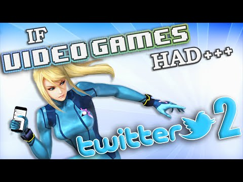 IF VIDEO GAMES HAD TWITTER 2