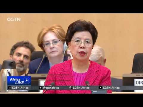 World Health Organisation chief delivers final address