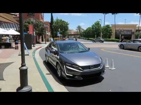 Honda Clarity Electric - Test Drive and Raw Footage from 6/10/17 in Irvine