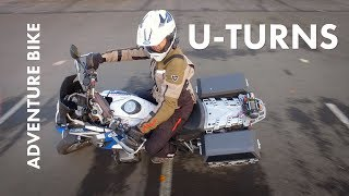 How To U-Turn on Adventure Motorcycles
