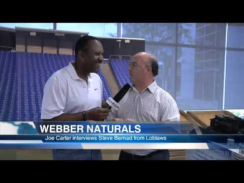 Joe Carter goes natural