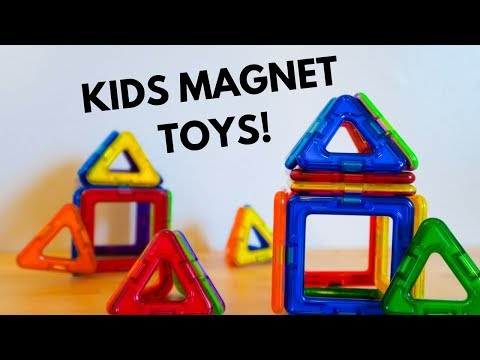 best-kids-magnet-toys-for-toddlers!-|-magformers-magnetic-toys-review