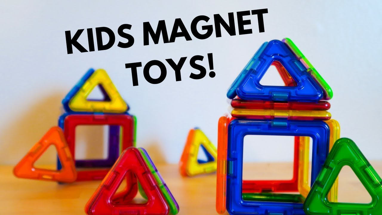 Best Kids Magnet Toys For Toddlers!