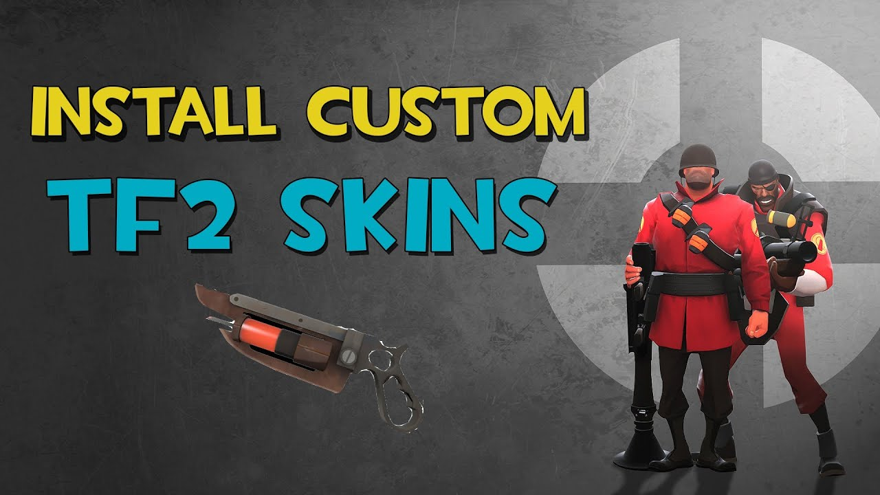 HOW TO INSTALL CUSTOM TF2 SKINS (Team Fortress 2) [STEAM PIPE]