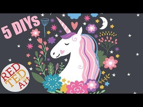 My Top 5 Unicorn DIYs - We LOVE DIY Unicorn Craft Ideas