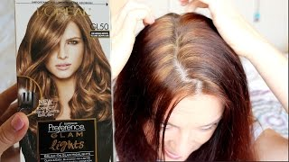GLAM LIGHTS //  by L'oreal  //  Highlights From a Box //  FAIL