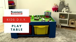 How To Make A Play Table For Kids - D.I.Y. At Bunnings
