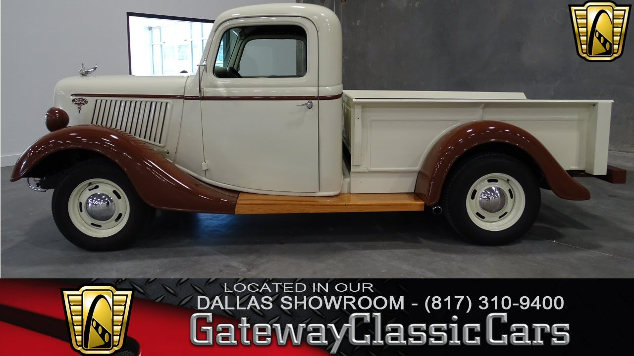 1936 Ford Pickup Restomod Stock #3 Gateway Classic Cars of Dallas ...