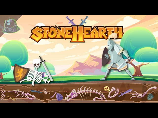 Stonehearth #4 - Expanding, Battle, Exploring - Let's Play