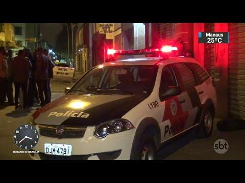 Policiais são detidos acusados de extorquir comerciantes em São Paulo | SBT Notícias (26/05/18)