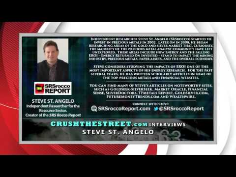 Steve St Angelo Interview $20 Oil will Cause The Break in Silver & Gold Coming