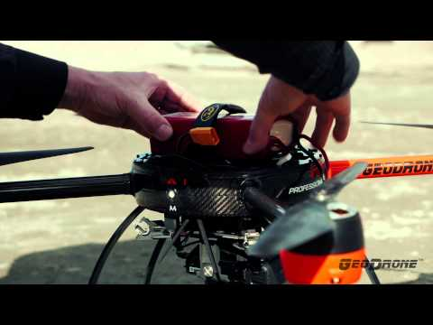 GeoDrone® X4L Aerial Mapping Drone