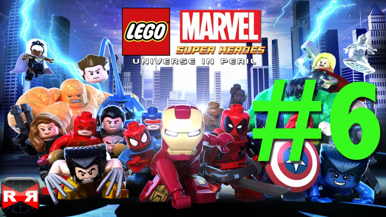 marvel lego x mansion walkthrough