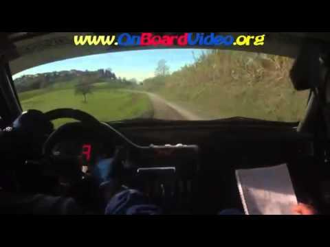 Cameracar 1 Rally Colli del Grignolino Morra Morra Peugeot 106 FA6 2 di classe