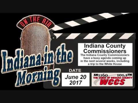 Indiana in the Morning Interview: Indiana County Commissioners (6-20-17)